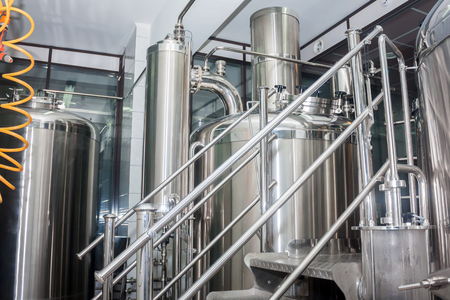 equipment: Stainless steel equipment of brewhouse