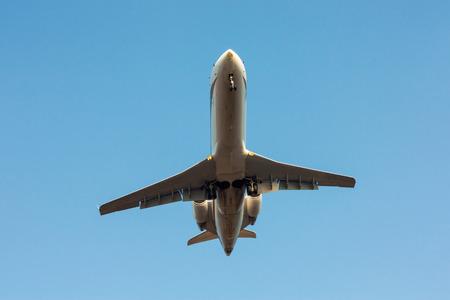 Частный самолет посадки
