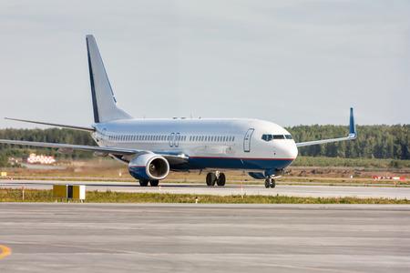 Руление самолета на МРД