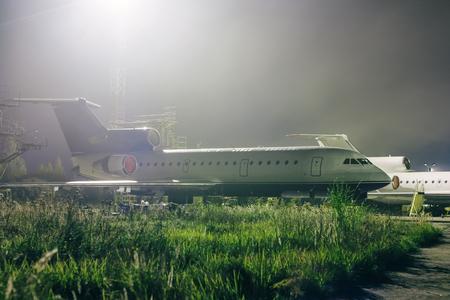 техническое обслуживание самолетов на технической базе авиации в ночное время