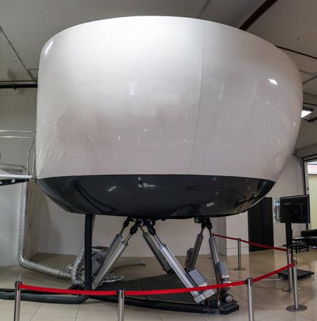 Simulador de formación en aviación civil