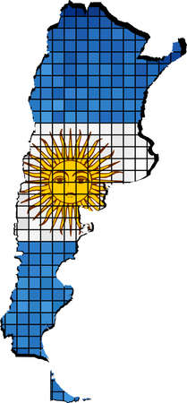 argentina map: Argentina map with flag inside, Argentina map grunge mosaic,  Vector Maps of Argentina,  Map of Argentina - Argentina national flag,  Argentina Map On Argentina Flag Drawing, grunge And mosaic Flag,  Argentinas Flag in mosaic,  The national flag & map o Illustration