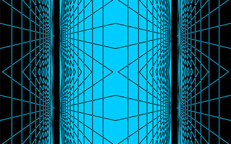 rn3d: Abstract 3d vector background,  Blue black background,  Blue line black background,   Black line blue background