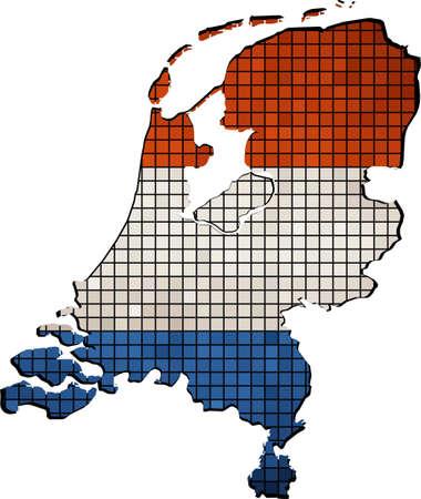 netherlands map: Netherlands map with flag inside, Netherlands map grunge mosaic,  Map of Netherlands - Netherlands national flag,  Netherlands Map On Netherlands Flag Drawing,  Mosaic grynge Holland map