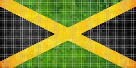 jamaican flag: Flag of Jamaica,  Jamaican Flag - Jamaican National Symbol,  Abstract Mosaic Flag of Jamaica,  Grunge flag of Jamaica,   Jamaica flag image,  Abstract grunge mosaic vector