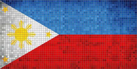 philippine: Philippine Flag Illustration