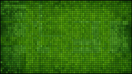 fondo geometrico: Green abstract mosaic background - Illustration,  Mosaic grunge background,  Squares Of Light And Dark green,  Green shapes of mosaic style Vectores