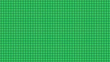 黒の背景に緑の背景の図では、緑の正方形  イラスト・ベクター素材