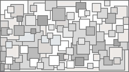 Squares in various shades of white background - Illustration, Illustration with squares, White squares background