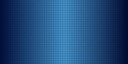 Shiny Blue abstract mosaic background - Illustration,  Squares Of Light And Dark Blue