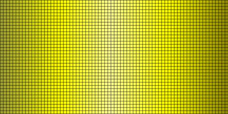 Shiny Yellow abstract mosaic background - Illustration,  Squares Of Light And Dark Yellow
