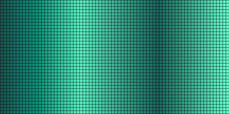 Shiny Turquoise abstract mosaic background - Illustration,  Squares Of Light And Dark turquoise