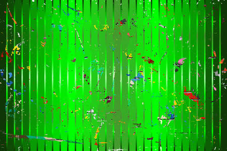 Light Green background with color stains - Illustration,  Three dimensional grunge background 向量圖像
