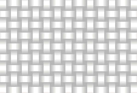 Abstract White background  - Illustration,  Three dimensional grunge background Stock Illustratie