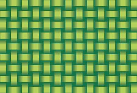 Abstract Green background  - Illustration,  Three dimensional grunge background