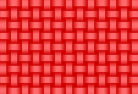 Abstract Red background  - Illustration,  Three dimensional grunge background