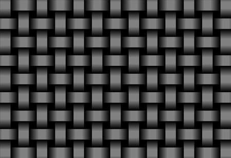 Abstract Black background  - Illustration,  Three dimensional grunge background