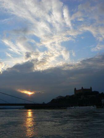 repetitious: Sunset in Bratislava