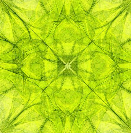 symetry: Fractal abstract - Symetry Stock Photo