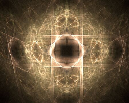 psyche: Fractal abstract - dimension