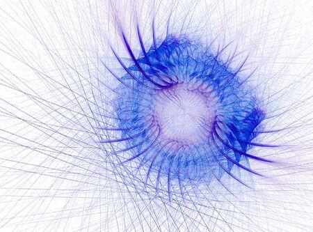 Fractal abstract - bug photo