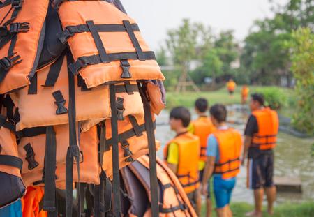 life jacket. photo