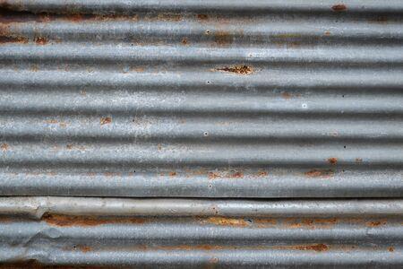 rusty: Rusty old zinc texture
