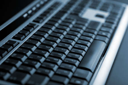 keypad: abstract dark keyboard background Stock Photo