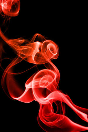 abstract red smoke photo