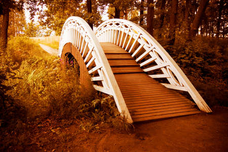 bridge to autumn photo