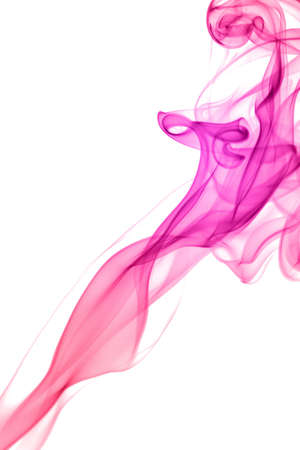 abstract pink smoke photo