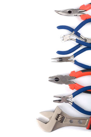 set of colorful tools isolated Stock Photo - 4599460