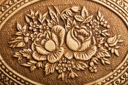 birchen: vintage floral background Stock Photo