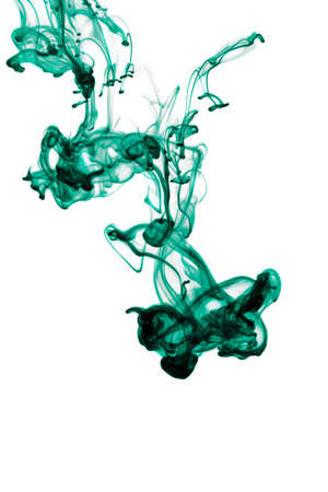 abstract ink in water isolated Stock Photo - 4628890