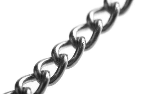 metal chain isolated Stock Photo - 4628904