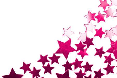 happening: holiday purple stars isolated
