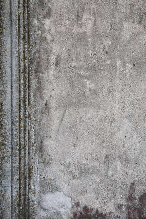 detritus: abstract grunge wall background Stock Photo