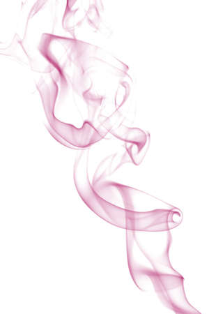 pink smoke isolated photo