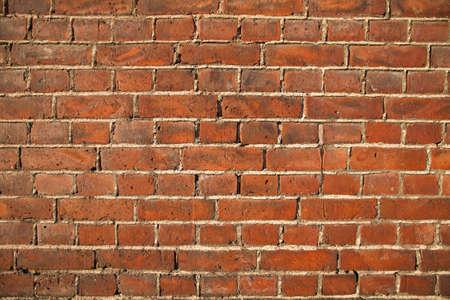 brick red: brick wall texture