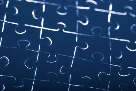 abstract puzzle background Stock Photo - 5053603