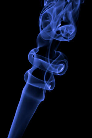 abstract blue smoke background Stock Photo - 5053730