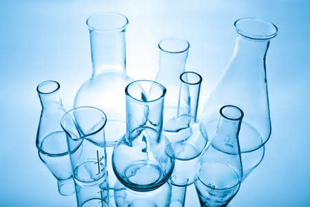 laboratory equipment: chemical laboratory equipment Stock Photo