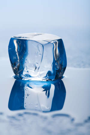 melting ice cube photo