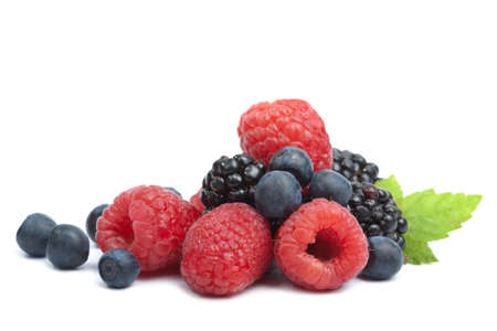 fresh berries isolated Stock Photo - 5414677
