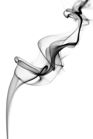 abstract grey smoke background Stock Photo - 5539915