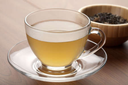 cup of green tea Stock Photo - 5767036