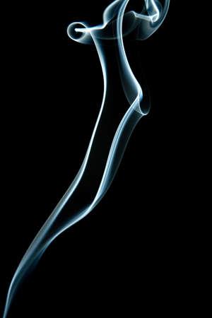 abstract grey smoke isolated Stock Photo - 6035588