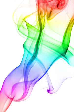 abstract colorful smoke isolated Stock Photo - 6035731