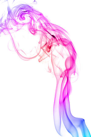abstract colorful smoke isolated Stock Photo - 7337006