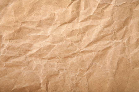 crumpled paper: crushed grunge paper background